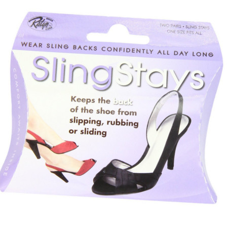 Ralyn Shoe Care Sling Stays 2 Pairs [651334104225]