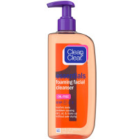 CLEAN & CLEAR Essentials Foaming Facial Cleanser 8 oz [381371153497]