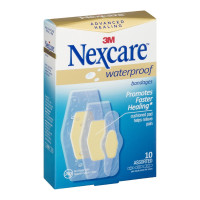 Nexcare  Advanced Healing Waterproof Bandages 10 ct [051131204713]
