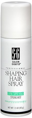 Salon Grafix Shaping Hair Spray Aerosol Extra Super Hold 1.50 oz [034044129571]