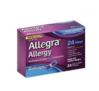 Allegra 24 Hour Allergy, Gelcaps 24 ea [041167412213]