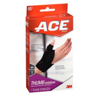 ACE Thumb Stabilizer Adjustable , Black. 1 ea [051131204539]