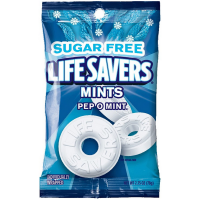 Lifesavers  Sugar Free Mints, Pep O Mint 12 pack (2.75 oz per pack) 1 ea [019000094001]