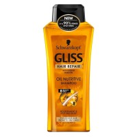 Schwarzkopf Gliss Hair Repair Oil Nutritive Shampoo 13.6 oz [017000155876]