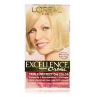 L'Oreal Paris Excellence Creme Haircolor, Light Natural Blonde [9] 1 ea [071249210758]