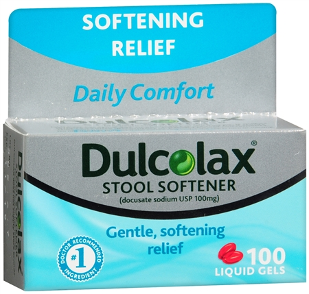 Ingredients In Dulcolax Stool Softener
