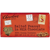 Chocolove Salted Peanut in Milk Chocolate 3.2 oz [716270001332]