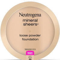 Neutrogena Mineral Sheers Loose Powder Foundation, Soft Beige [50], 2 pack [086800432821]