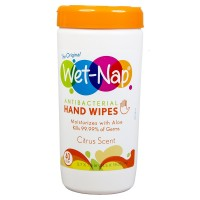 Wet-Nap Antibacterial Hand Wipes, Citrus 40 ea [074887677105]