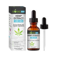 Sky Organics Hemp Extract 1500 mg Tincture 1 oz [191567806393]