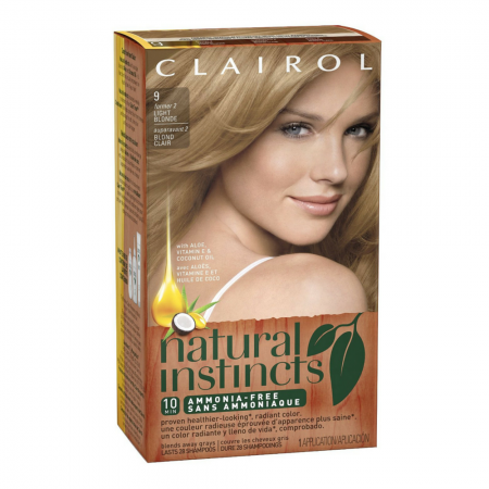 Natural Instincts Non-Permanent Color, 09 Light Blonde 1 ea [381519003035]