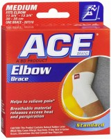 ACE Elbow Brace Medium 1 Each [382902073185]