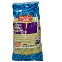 Arrowhead Mills Green Split Peas 16 oz [074333476986]