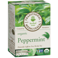 Traditional Medicinals Organic Herbal Tea, Peppermint 16 ea [032917000521]