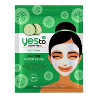 Yes To Cucumbers Calming Paper Mask,  1 ea [815921018405]