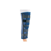"ProCare 79-80170 Clinic 3-Panel Knee Splint, Countoured Stays, Universal, 32"" Thigh Circumference, 20"" Length - 1 ea [888912027038]"