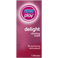 Durex Play Delight Bullet Vibrating Personal Massager Vibrator, 1 ct [302340859158]