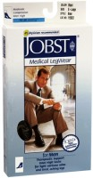 JOBST SupportWear Knee High Socks 15-20 mmHg Men's Black X-Large 1 Pair [035664150037]