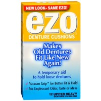 Ezo Denture Cushions Upper Heavy 12 Each [075137286986]