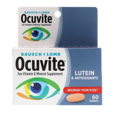 Bausch & Lomb Ocuvite Tablets 60 Tablets [324208387603]