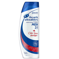 Head and Shoulders 2-in-1 Anti-Dandruff Shampoo + Conditioner for Men, Old Spice Swagger 13.5 oz [037000973713]