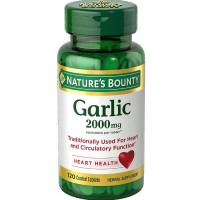Nature's Bounty Garlic 2000mg, Tablets 120 ea [074312416828]