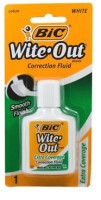 Bic Wite Out Extra Coverage Correction Fluid 0.70 oz [070330506206]