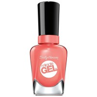 Sally Hansen Miracle Gel Nail Polish, Malibu Peach 0.50 oz [074170423167]