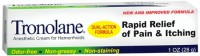 Tronolane Anesthetic Cream for Hemorrhoids 1 oz [311868814013]