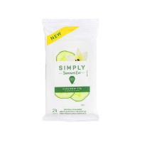 Simply Summer's Eve Cucumber Lily Cleansing Cloths,  24 ea [041608003079]