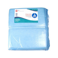 "Dynarex Disposable Under Pad, 17"" L X 24"" W - 100 ea  [616784134130]"