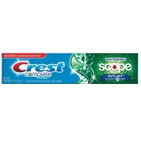 Crest Extra White Plus Scope Outlast Toothpaste Long Lasting Mint 7.60 oz [037000228837]