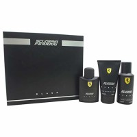 Ferrari  Black 3 Piece Set, For Men  1 ea [8002135142053]