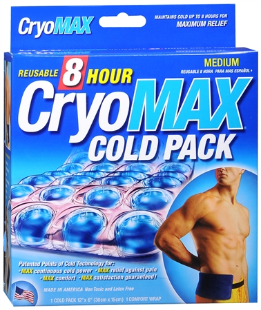 Cryo-MAX Cold Pack With Flexible Straps 1 Each [859410000021]