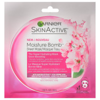 Garnier SkinActive The Super Hydrating Sheet Mask - Glow-Boosting 1.08 oz [603084541164]