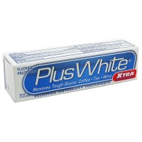 Plus White Whitening + Protection Toothpaste, Xtra Whitening Power Cool & Crisp Mint 3.50 oz [018515272430]