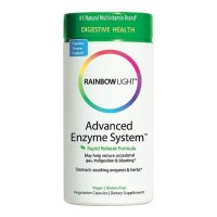 Rainbow Light Advanced Enzyme System Vegetarian Capsules 60 ea [021888302123]