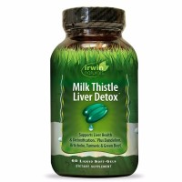 Irwin Naturals Milk Thistle Liver Detox Supplement 60 ea [710363585495]