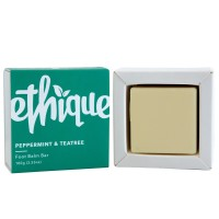 Ethique Eco-Friendly Foot Balm Bar, Peppermint & Teatree 3.53 oz [859355007178]