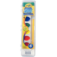 Crayola Washable Watercolors 8 ea [071662005252]