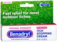 Benadryl Itch Stopping Cream Original Strength 1 oz [312547171625]