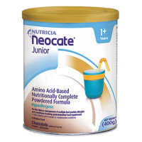 Pediatric Oral Supplement Neocate Junior Chocolate 400 Gram Can Powder, 4 ea [749735126905]