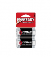 Eveready Super Heavy Duty D Batteries 2 ea [039800059352]