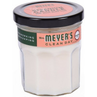 Mrs. Meyers Clean Day Scented Candle, Geranium 4.9 oz [808124431171]