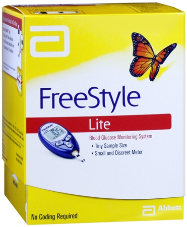 Freestyle Lite Blood Glucose Monitoring System 1 Each