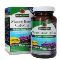 Nature's Answer Marine Based Cal - Mag 500 mg    120 ct [083000164613]