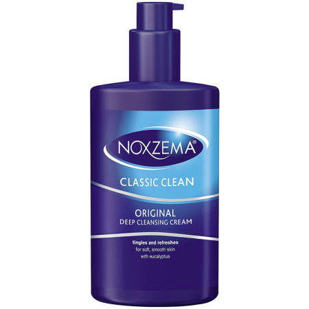 Noxzema Clean Moisture Deep Cleansing Cream 8 oz [087300560120]