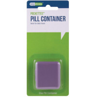 Ezy-Dose Pockettes, Pill Container 1 ea (Colors May Vary) [025715670126]