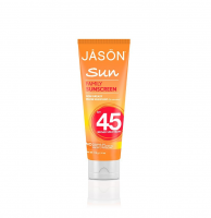Jason Sun SPF 45 Natural Family Sunscreen 4 oz [078522083009]