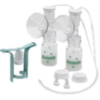 Ameda One Hand Breast Pump - Dual Action 1 ea [032884162437]